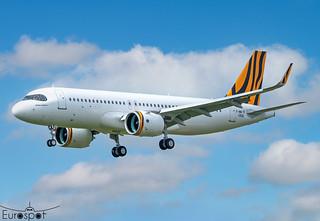 F-WWIR / B-50021 Airbus A320-271N TigerAir Taiwan s/n 10682 - First flight * Toulouse Blagnac 2021 *