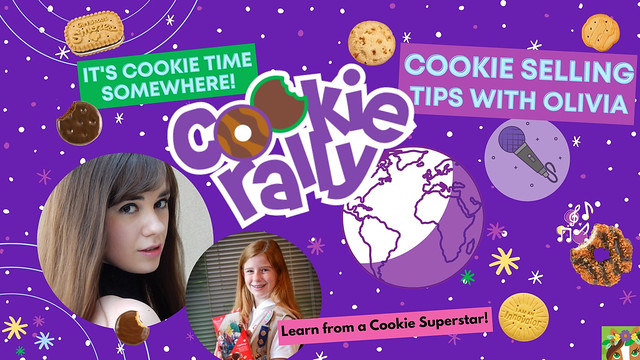 Olivia's Girl Scout Cookie Selling Tips!