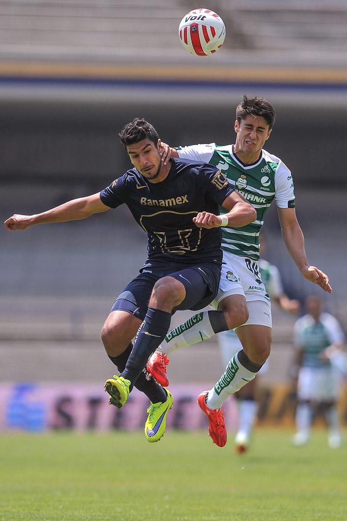 Pumas vs Santos - Clausura 2015