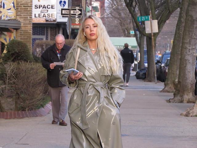 Woman on Street 2021