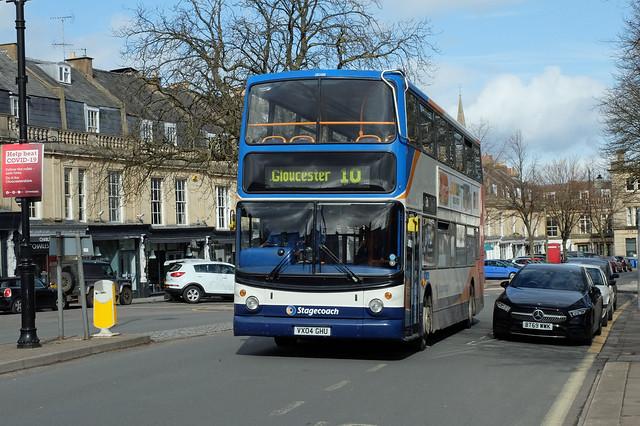 Stagecoach VX09 GHU, Cheltenham