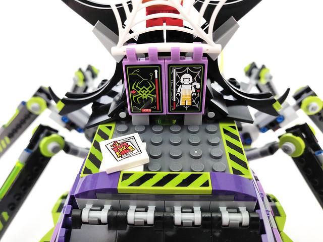 LEGO Monkie Kid Spider Queen's Arachnoid Base (80022)