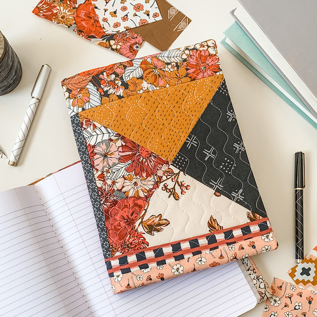 Hourglass Quilted Journal