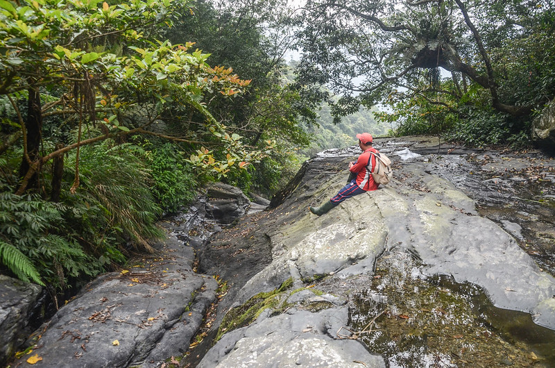 萬安溪支流大岩盤溪谷 (2)