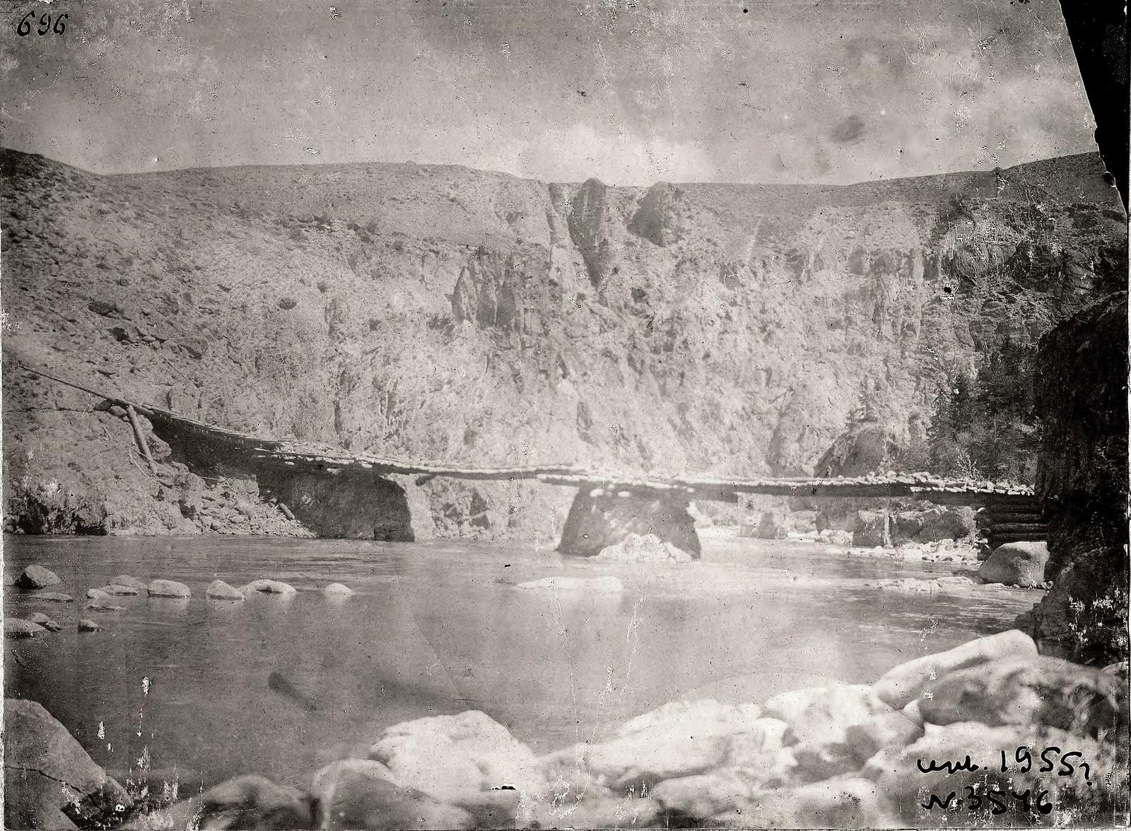 14. Мост через реку Чулышман в поселок Язулю