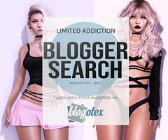 Limited Addiction Accepting Bloggers!