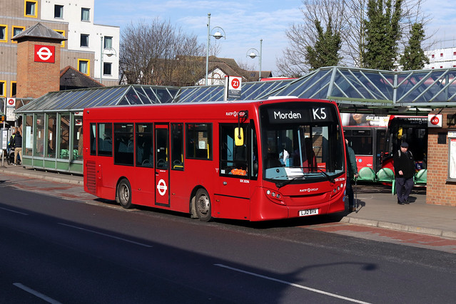 Route K5, London United, SDE20296, LJ12BYX