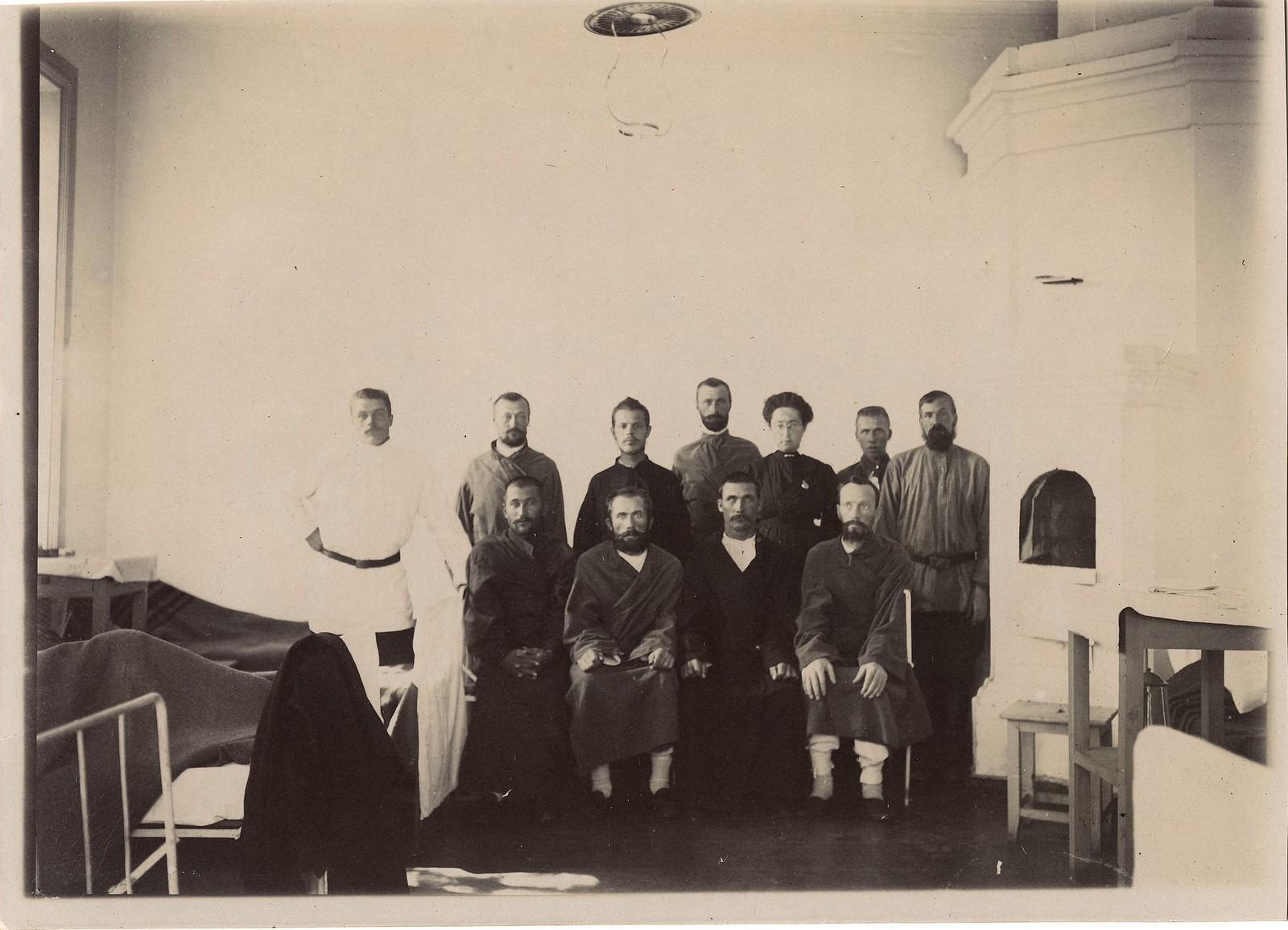 03. Группа лечащихся в больничном покое