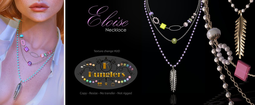 KUNGLERS Eloise necklace