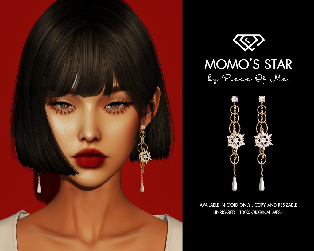 Momo's Star Earrings !!