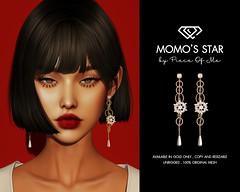 Momo's Star Earrings !!