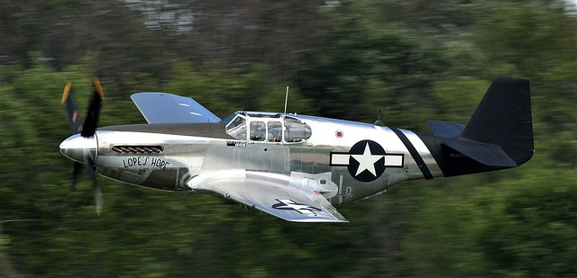 North American P51C Mustang Lopes Hope the 3rd NL6555B Last Military Serial 43-24907 USAAF