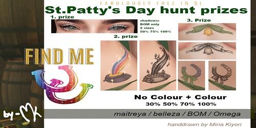 by-MK - FabFree St. Patty's Day Hunt Key