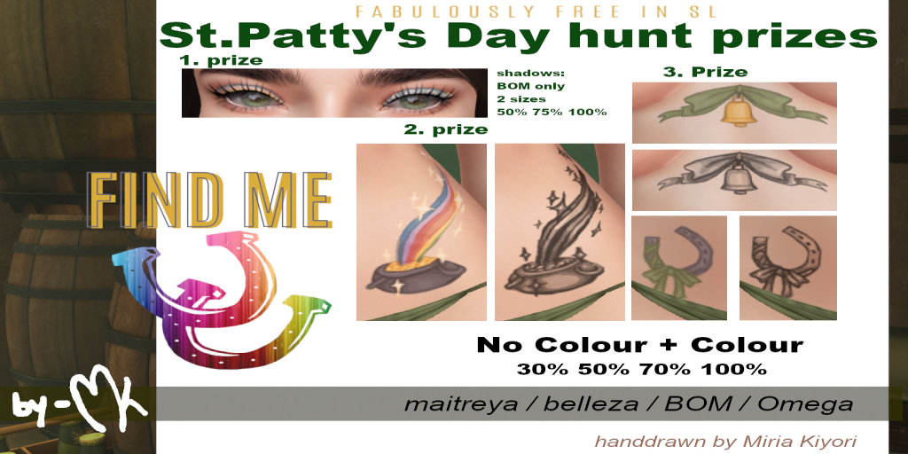 by-MK - FabFree St. Patty's Day Hunt Key