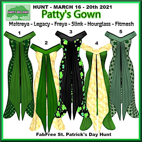 Sweet Willows - FabFree St. Patty's Day Hunt Key