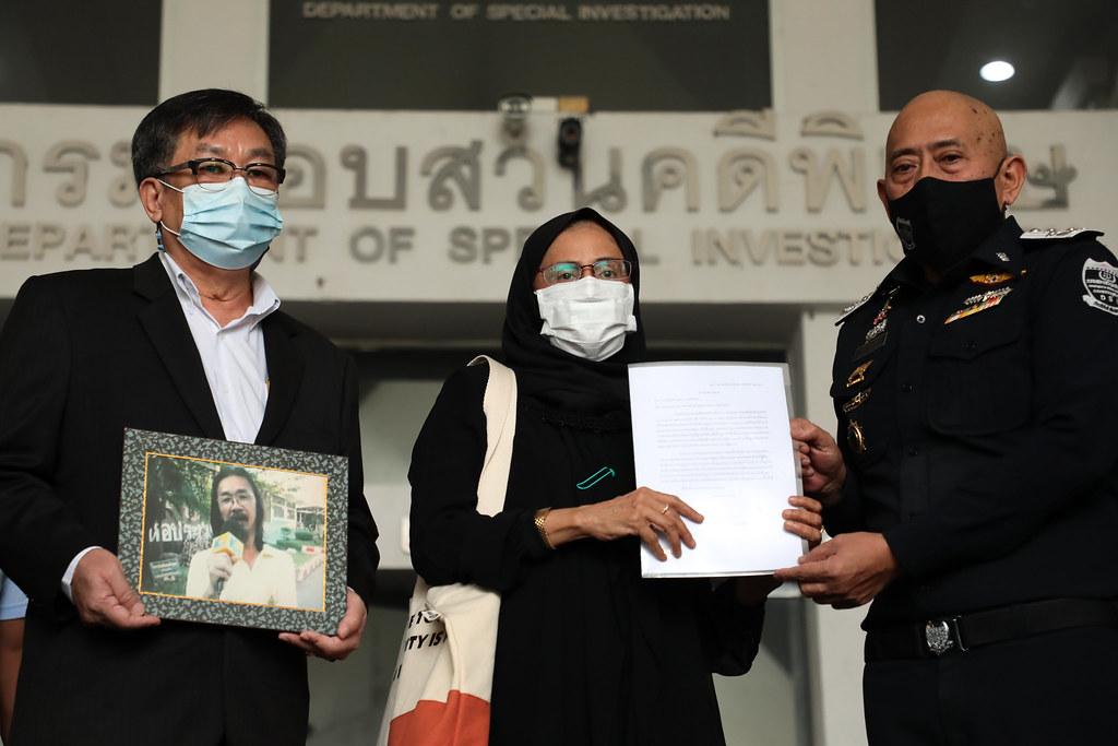 อังคณา นีละไพจิตร ยื่นเรื่องสอบถามความคืบหน้าคดีทนายสมชายต่อกรมสอบสวนคดีพิเศษ