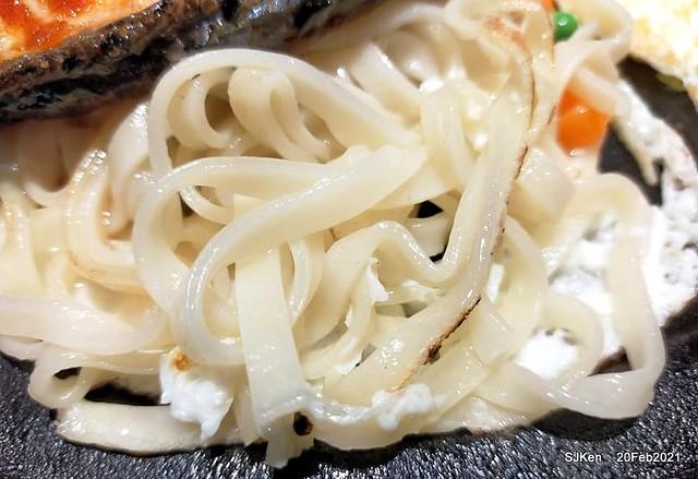 Fish steak , 孫東寶台式牛排台北民生(Sun-DongBao Beef & fish steak chainstore),Taipei,Taiwan, SJKen, Feb 20,2021.