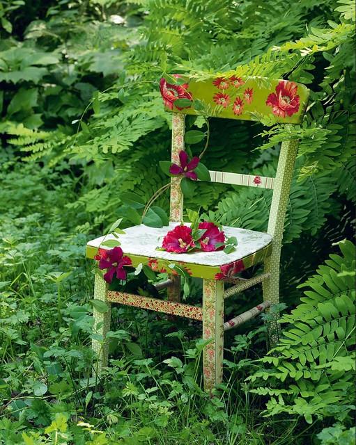Découpage Chair