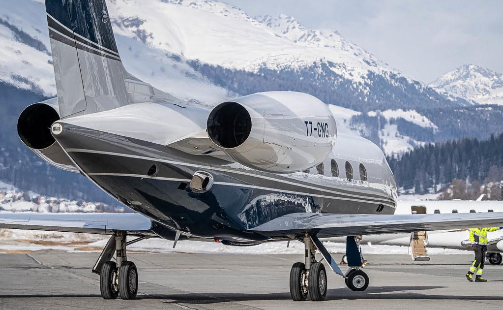 SMV/LSZS: Private / Gulfstream Aerospace GIV-X (G450) / T7-GNG