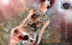 Flora tattoo