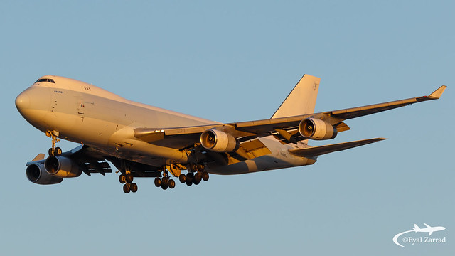 TLV - Longtail Aviation Boeing 747-400F VQ-BWS