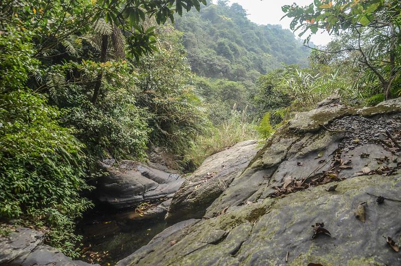 萬安溪支流大岩盤溪谷 (6)