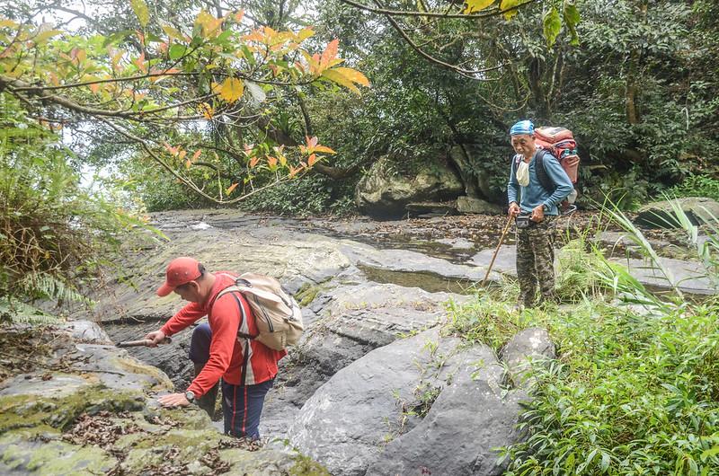 萬安溪支流大岩盤溪谷 (3)