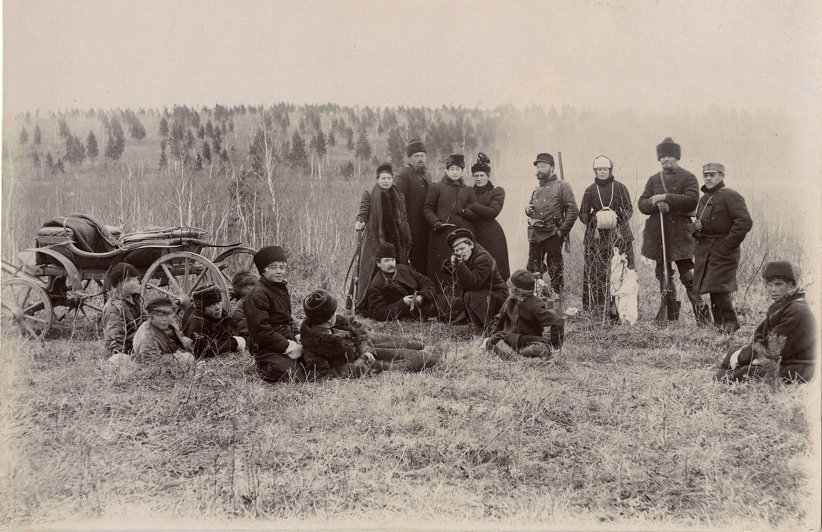 05. Охотники на привале
