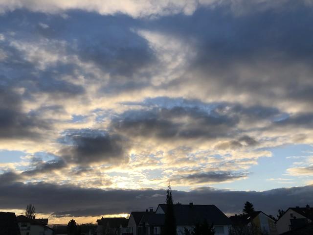 """WOLKEN,""""Clouds""""."""