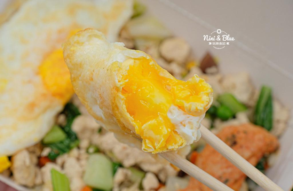 彰化車站美食  艾波廚房 豆腐飯減醣便當16