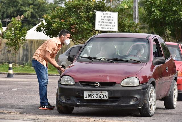 12.03.21 - Prefeito acompanha vacinação em diversos pontos de Manaus