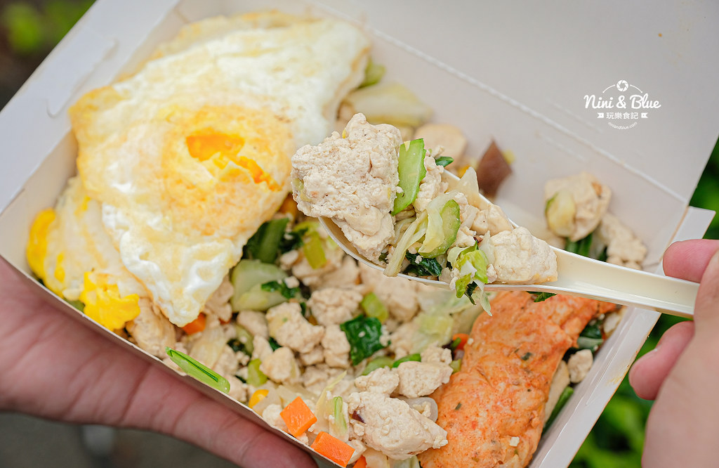 彰化車站美食  艾波廚房 豆腐飯減醣便當17