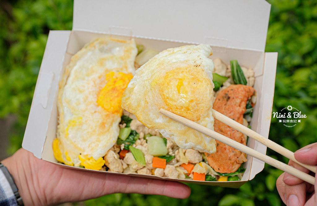 彰化車站美食  艾波廚房 豆腐飯減醣便當15