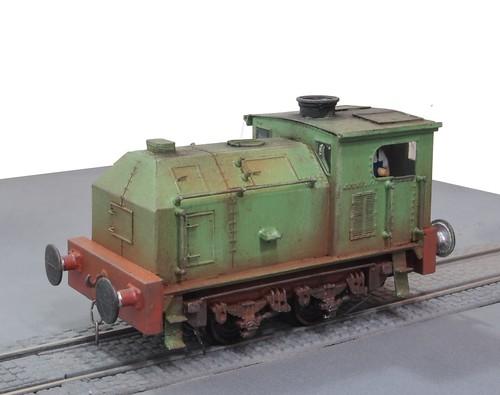 Sentinel post war 100HP 0-4-0VBT
