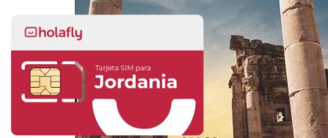Tarjeta SIM de datos para viajar a Jordania
