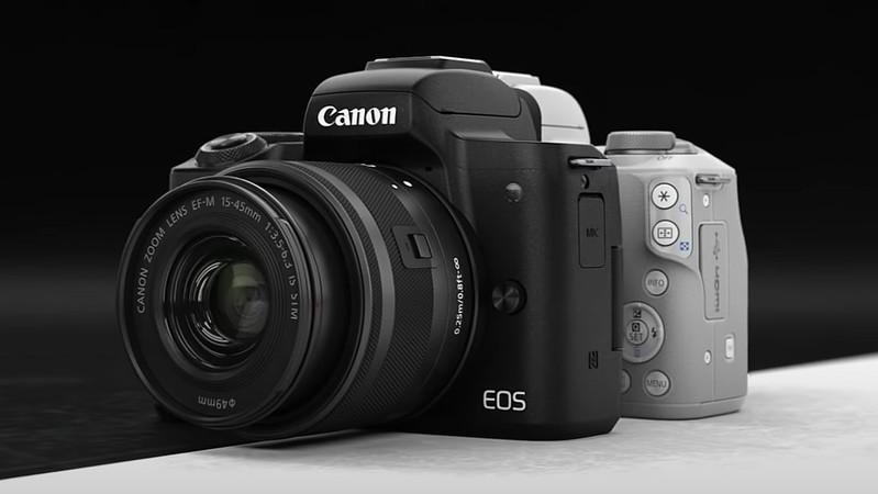 So sánh EOS M50 với EOS M50 Mark II