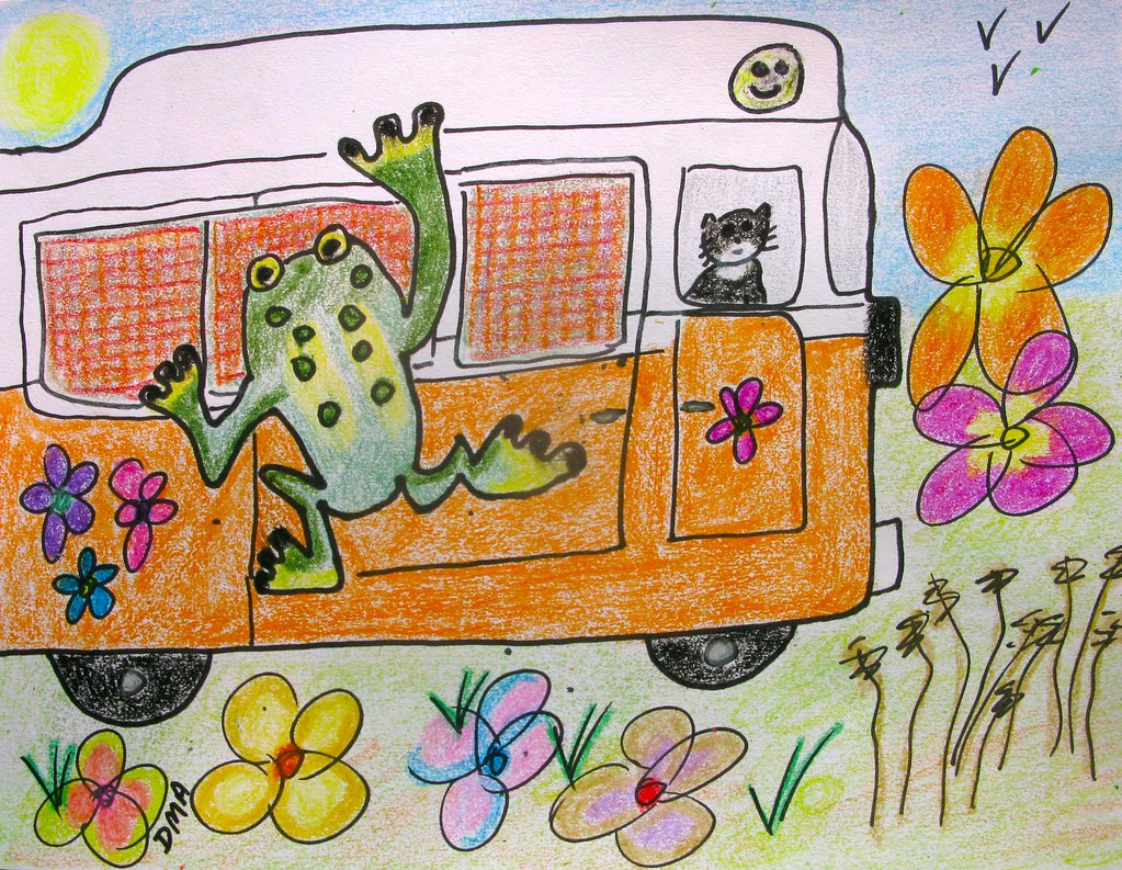 Frog on Van min full size1
