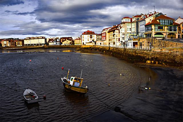 Luanco, la villa marinera de Asturias.