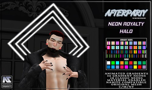 Afterparty - Neon Royalty Halo [Group Gift]