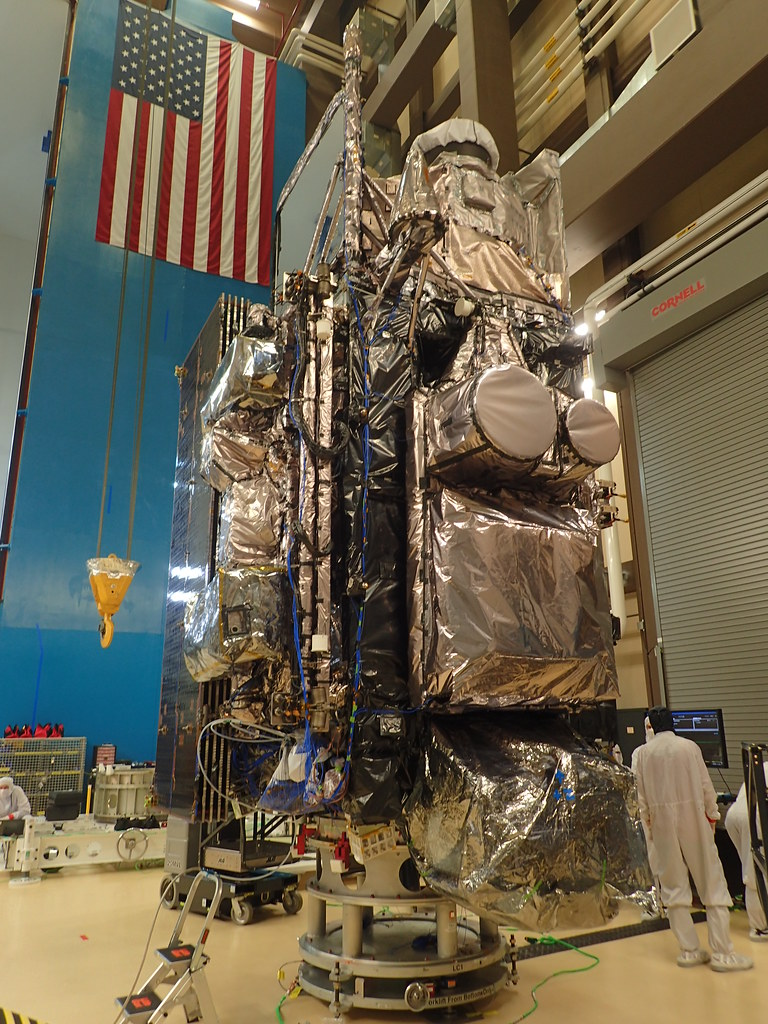 Fully Assembled GOES-T Satellite
