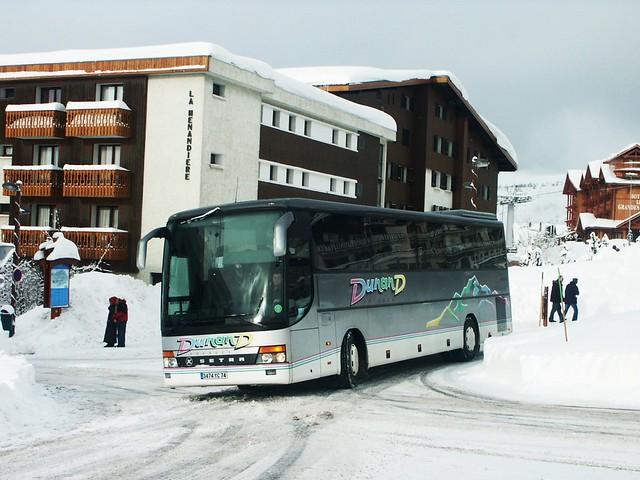 Setra S315GT-HD Voyages Dunand L'Alpe d'Huez (38 Isère) 05-03-06a