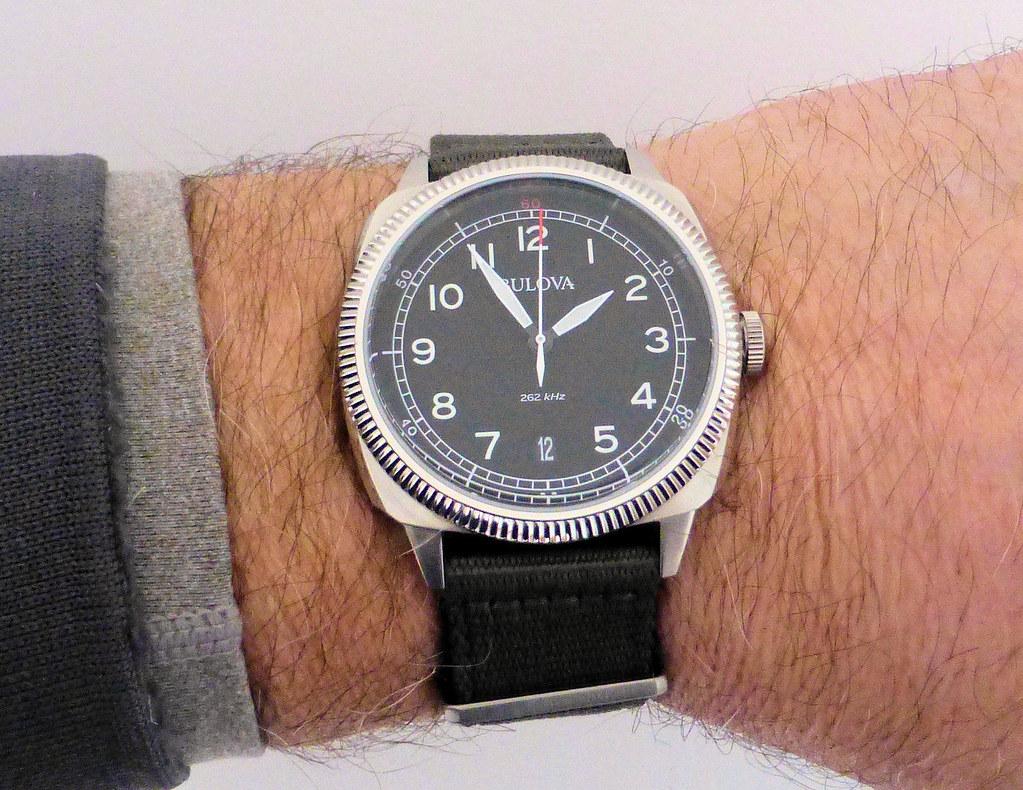 bulova military wrist