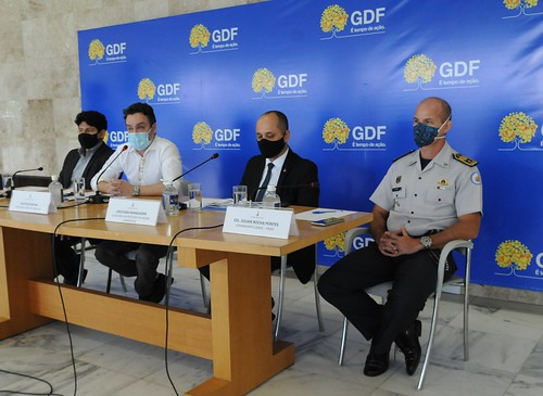 Coletiva sobre ações do GDF no combate à covid-19 12/03/2021
