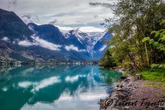 le site d'Oldevatnet (Norvège)