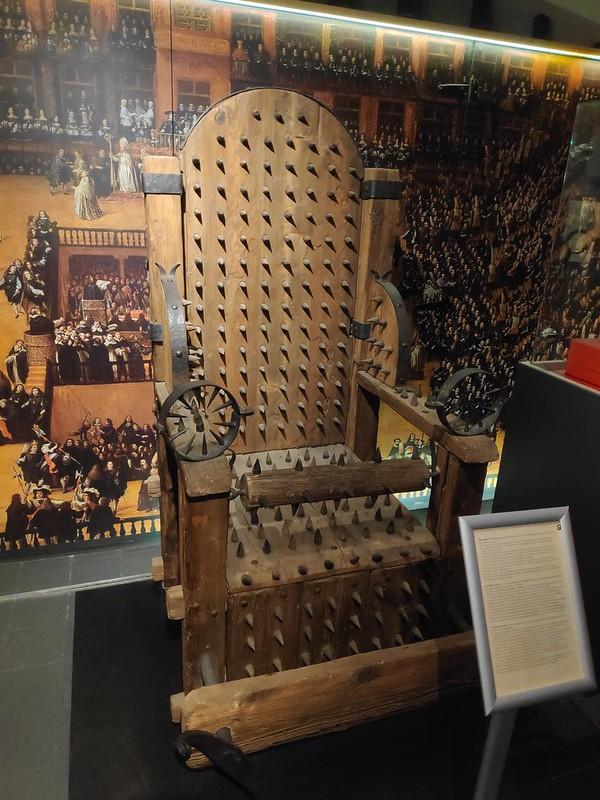 """Torture museum.""""De Oude Steen"""". Brujas"""
