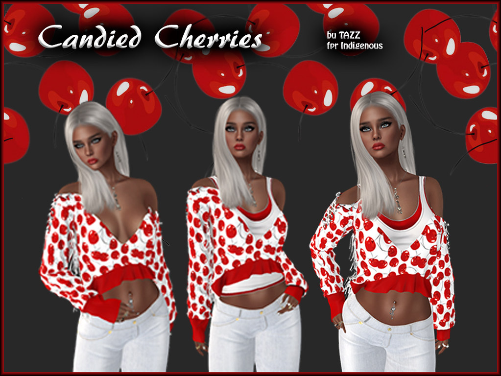 Candied Cherries by TAZZ for Indigenous