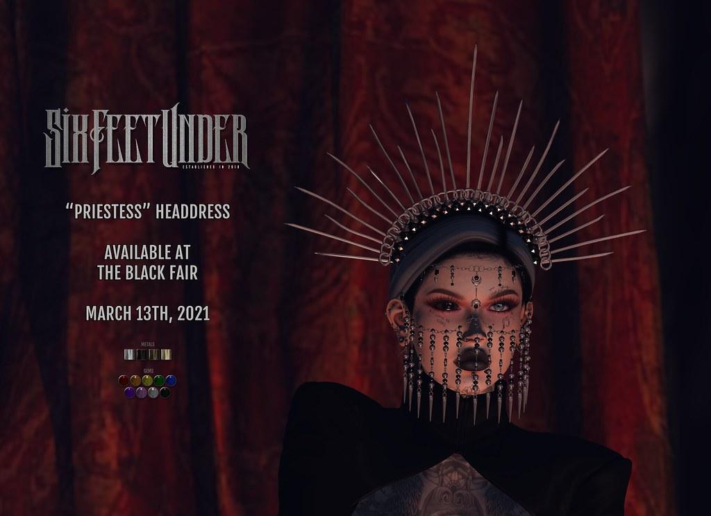 Six Feet Under - Priestess Headdress