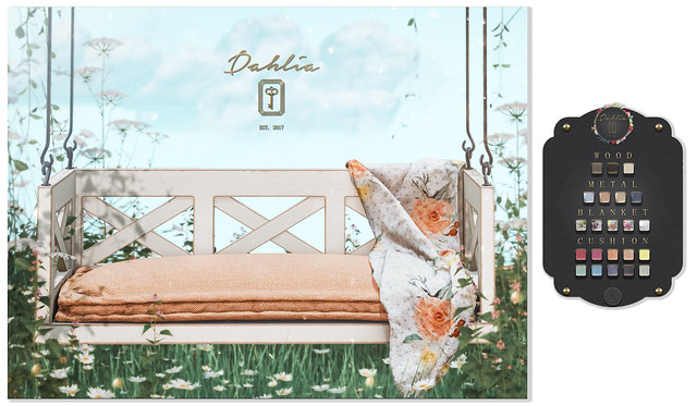 Dahlia - Hazel -  Deco(c)rate - GIVEAWAY
