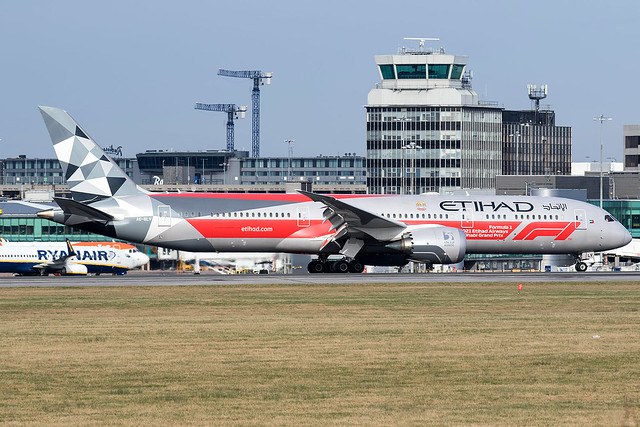 A6-BLV / Etihad Airways / Boeing 787-9 Dreamliner