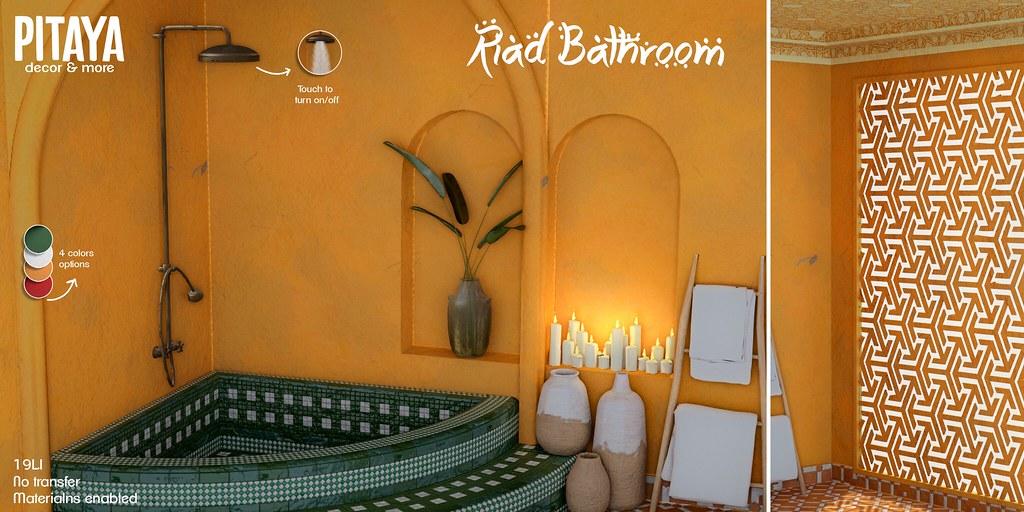 Pitaya – Riad Bathroom @ Access